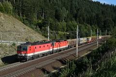 1144 223 + 1144 116, DG 54454. Kolbnitz (M. Kolenig) Tags: 1144 tauernbahn güterzug