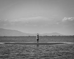 Irene yoga (Raúl Gallego Huete) Tags: agua bnw portrait blackandwhite