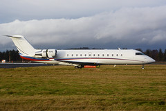 9H-YOU Bombardier Challenger 850 EGPH 23-12-17 (MarkP51) Tags: 9hyou bombardier challenger850 bizjet corporatejet edinburgh airport edi egph scotland aviation airliner aircraft airplane plane image markp51 nikon d7100 sunshine sunny planeporn