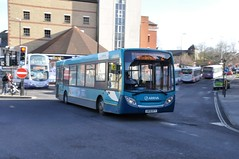 GN58BTY (Common Buzzard) Tags: colchester essex buses busstation arriva vehicle alexander dennis