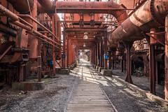 Through the Blast Furnace Complex (Sloss Furnace) (jeff_a_goldberg) Tags: blastfurnace pigiron iron slossfurnaces alabama nationalhistoriclandmark redclaytours industrialrevolution birmingham unitedstatesofamerica us