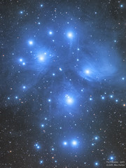 Pleaides - M45 (Alejandro Pertuz) Tags: nebula pleiades space cosmos m45 astronomy astrophotography science