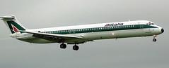 McDonnell Douglas MD-82 I-DAWF (707-348C) Tags: dublinairport dublin eidw mcdonnelldouglas douglas mcdonnell md82 alitalia aza passenger idawf dub airliner jetliner super80 ireland 2006 md80