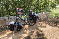 Day 3  Aguilar de Campoo to Carrion de los Condes 18 (granville3) Tags: iberia altura spain touring thornnomad clickstand iberia2018 bike palencia españa castillayleón bicycle cycle herreradepisuerga es