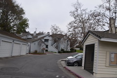 From the bike (earthdog) Tags: 2018 nikon nikond5600 d5600 18300mmf3563 sanjose frombike whilecycling walkingdistance condocomplex soft blur building