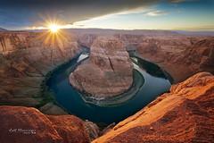 Horseshoe Bend (jo.haeringer) Tags: arizona fuji xt2 clouds horseshoebend sunset nisi usa colorado