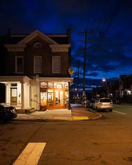 6:30AM (cmyhsi) Tags: 630am morning rva richmond va virginia natesbagels bagel earlylight bluehour dawn