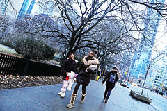Toronto (kirstiecat) Tags: toronto canada sisters canon street streetphotography candid girls women happy happiness architecture trees downtowntoronto boots teddybear style love