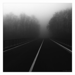"""a bridge too far"" (B.Graulus) Tags: photography fotografie monochrome morning street bertem belgium flanders belgië"