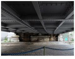 Passage (michelle@c) Tags: urban urbanscape city cityscape architecture industrial bridge under pavement canal seine paris 2019 michellecourteau