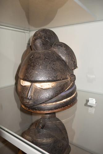 Bullet-headed Mende mask