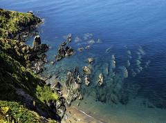 UK, Cornwall: Rocks & textures @ Rame (desimage) Tags: southwestcoatpath cornwall england uk coast coastal cliffs rocks sand sea textures desimage highview