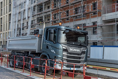 Scania G410 (Alexandre Prévot) Tags: travaux construction chantier worksite buildingsite construcción baustellebauplatz cugn grandnancy lorraine truck worldtruck camion transport