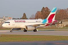 Airbus A319-132 - D-AGWH - HAJ - 02.04.2019(2) (Matthias Schichta) Tags: haj hannoverlangenhagen eddv flugzeugbilder planespotting eurowings airbus a319100 dagwh