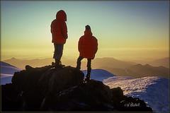 Baker Sunset (Maclobster) Tags: mt baker coleman glacier sunset