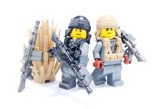 Custom LEGO Italian LMG Revealed! (BrickWarriors - Ryan) Tags: minifigure accessories guns lego weapons wwii war minifig custom