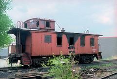 CB&Q Waycar Class NE-9 13839 (Chuck Zeiler 48Q) Tags: cbq waycar class ne8 13839 burlington railroad caboose kansascity train chuckzeiler chz