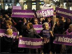 15 de enero 2019. Plaza Sant Jaume. Barcelona (Esteban OF) Tags: woman derechos violencia barcelona solidaridad reivindicar olympus people mujer city mujeres lucha dema democracia