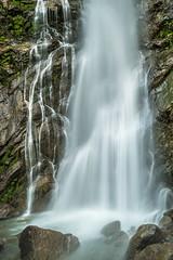Wasserfall (KaAuenwasser) Tags: wasserfall wasser stein steine berg alpen gestein becken bach fluss gebirge felsen nebel