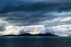 Rays of Light I (*Capture the Moment*) Tags: 2019 chileanfjords chilenischefjorde clouds cruise cruiseship elemente himmel landscape landschaft magellanstrasse patagonicchannels patagonischekanäle sky sonye356318200oss sonyilce6300 southamerica straitofmagellan südamerika wasser water wetter wolken cloudy wolkig