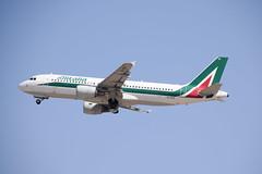 Alitalia A320, EI-DTE, TLV-FCO (LLBG Spotter) Tags: aircraft a320 tlv airline alitalia eidte llbg