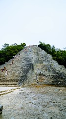 2017-12-07_12-27-33_ILCE-6500_DSC03037-EFFECTS (Miguel Discart (Photos Vrac)) Tags: 2017 24mm archaeological archaeologicalsite archeologiquemaya coba e1670mmf4zaoss focallength24mm focallengthin35mmformat24mm holiday ilce6500 iso100 maya mexico mexique sony sonyilce6500 sonyilce6500e1670mmf4zaoss travel vacances voyage yucatecmayaarchaeologicalsite yucateque