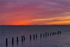 Sky gazing! (karindebruin) Tags: colors haven hellevoetsluis jachthaven kleuren nederland thenetherlands voorneputten zonsondergang zuidholland clouds sunset water wolken