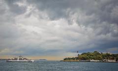 Istanbul - Marmara sea (Yaman Y) Tags: istanbul tree turkey clouds cloud amazing yamany yaman iskele ship ships summer window winter sea marmara bosphorus