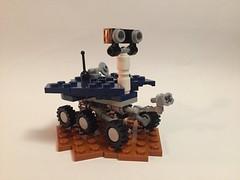 Micro MER Rover - Opportunity (Legoian712) Tags: lego moc nasa space mars rover spirit opportunity
