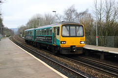 Transport for Wales 143601 (TC60054) Tags: transport for wales keolis arriva trains tfw atw pacer alexander brel railbus class 143 dmu diesel multiple unit cardiff valleys train rail railway