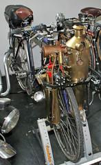 Steam bike (Schwanzus_Longus) Tags: automuseum museum melle german germany modern bike bicycle steam engine steampunk