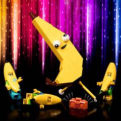 Break Dancing Bananas (Jezbags) Tags: break dancing bananas banana lego legos toy toys canon canon80d 80d 100mm macro macrophotography macrodreams macrolego legomovie2 legomovie banarnar dance