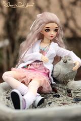 Candy (wixanawiggova) Tags: doll bjd bjddoll fairyland minifee sarang minifeesarang saranglove love sweet balljointeddoll