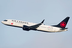 Air Canada Boeing 737-8 MAX C-FSOI (Mark Harris photography) Tags: spotting lax la canon 5d plane aviation boeing 737