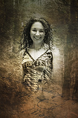 forest fairy (gotan-da) Tags: model modelo female femme frau beauty natural woman belle bellezza donna