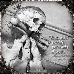 """At the end of your life, you're lucky if you die."" -Flight of the Conchords . 💀 Sign up on our mailing list for exciting special announcements! 💀 ☩ sedlecossuary.mechanicalwhispers.com ☩ ☩ Or click link in bio. ☝️ ☩ . . #SedlecOssuary (Sedlec Ossuary Project) Tags: sedlecossuaryproject sedlec ossuary project sedlecossuary kostnice kutnahora kutna hora prague czechrepublic czech republic czechia churchofbones church bones skeleton skulls humanbones human mementomori memento mori creepy travel macabre death dark historical architecture historicpreservation historic preservation landmark explore unusual mechanicalwhispers mechanical whispers instagram ifttt"
