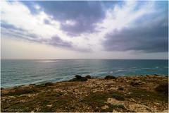 The Atlantic Ocean seen from Ponta da Atalaia (Luc V. de Zeeuw) Tags: atalaia cape cloudy ocean pontadaatalaia rock sagres water algarve portugal