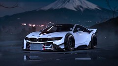 bmw_i8_tuning_sport_car_front_view_102782_1280x720 (andini.dermayu) Tags: car bmw sport white