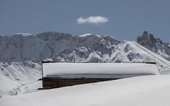 Schneeschuhwandern auf der Alpe di Siusi (Christian Vyhnalek) Tags: dolomiten seiser alm alpe di siusi berge schnee schneeschuh wandern winter landschaft