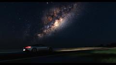 DB11 (at1503) Tags: night starrysky stars car motion blur movement ps4 australia mountpanorama circuit track astonmartin db11 astonmartindb11 silver blue galaxy milkyway gtsport granturismo granturismosport motorsport racing game gaming edited