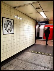 Warren Street Labyrinth (R~P~M) Tags: train railway station art wallinger labyrinth enamel vitreousenamel warrenstreet londonunderground london england uk unitedkingdom greatbritain