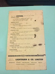 Vintage Lightburn Cement Mixer (RS 1990) Tags: lightburn cementmixer vintage instructions leaflet australia australian retro aussie