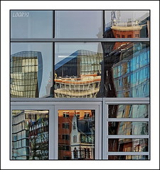 Abstract city (Logris) Tags: abstract abstrakt city stadt reflection reflections spiegelung spiegelungen window fenster canon eos 600d