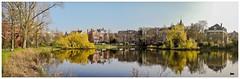 On Golden Pond (Hans Veuger) Tags: nederland thenetherlands amsterdam vondelpark koningslaan kingslane park panorama stitch nikon b700 coolpix nederlandvandaag unlimitedphotos twop