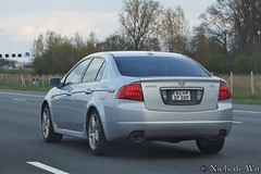 2004-2008 Acura TL (NielsdeWit) Tags: nielsdewit car vehicle wi sp 589 acura tl germany a12 driving highway snelweg
