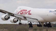 Astral Cargo   Boeing 747 (lee adcock) Tags: 747 astralaviation b744 dsa nikond500 runway02 tfamu airplane boeing nikon70200f28vri tc14