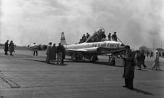 Alf060  US Air Force  Lockheed T-33 full serial 53-5776 Photo's by Alf Jefferies (Photos by Alf Jefferies) Tags: planes aircraft bentwaters photos by alf jefferies usaf cold war nato air arm england