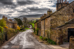 Peaceful Village (Kev Walker ¦ 10 Million Views..Thank You) Tags: architecture clouds england lancashire outdoor sky snow town village aitken barley beautiful beautifulvillage blacko bluesky british buildings cloudy cold council covered crossroad downham english famous floralforeground hill houses icon information landscape near nelson parish parks path pendle rural sign signpost street sunny symbols tourism travel under urban view walking weather winter wood