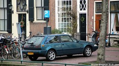 Volvo 480 ES 1995 (XBXG) Tags: lvxv67 volvo 480 es 1995 volvo480 coupé coupe green vert rapenburg leiden nederland holland netherlands paysbas youngtimer old classic swedish car auto automobile voiture ancienne suédoise sverige sweden zweden vehicle outdoor