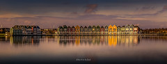 Rainbow Houses 2019 (EBoss Fotografie) Tags: houten rietplas house colors reflection clouds sky netherlands nederland holland water architecture city town soe twop supershot luminar2018 canon madewithluminar